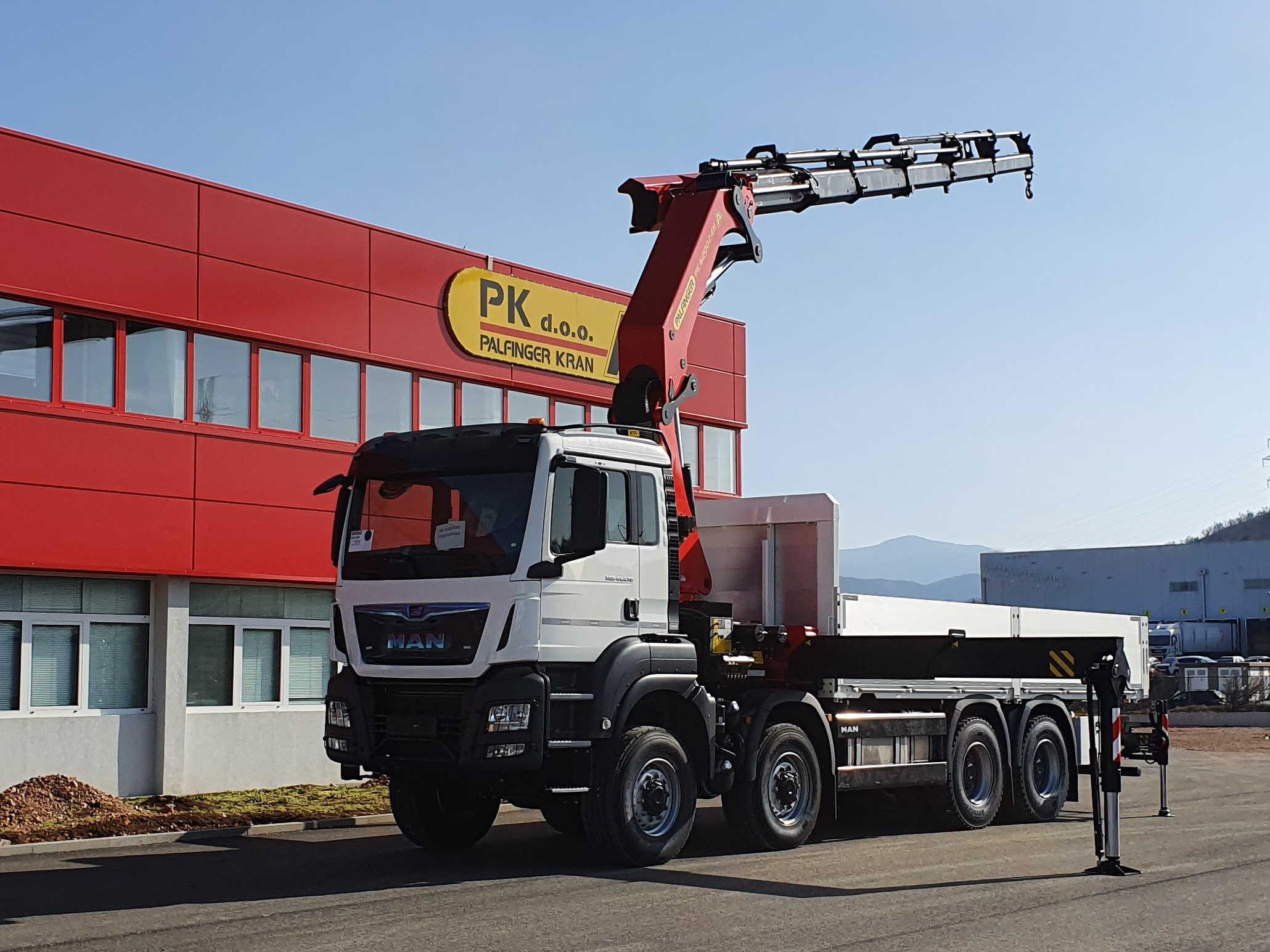Palfinger kamionska dizalica